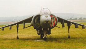 The Harrier Jump Jet