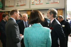 HRH The Earl of Wessex visits GASP Motor Project