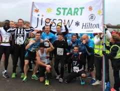 Runners keep on going for Jigsaw